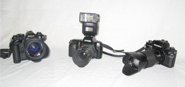 kameras der siebziger jahre